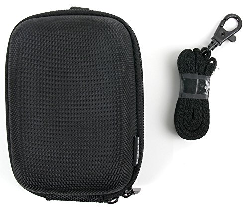 DURAGADGET Hard Water Resistant Rigid EVA Shell Case in Classic Black with Belt Loop - Suitable for The MGCOOL Band 2 Heart Rate Monitor