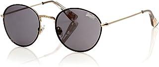 Superdry Enso Unisex Sunglasses - Gold - Black - SDENSO-201, 49-22-143