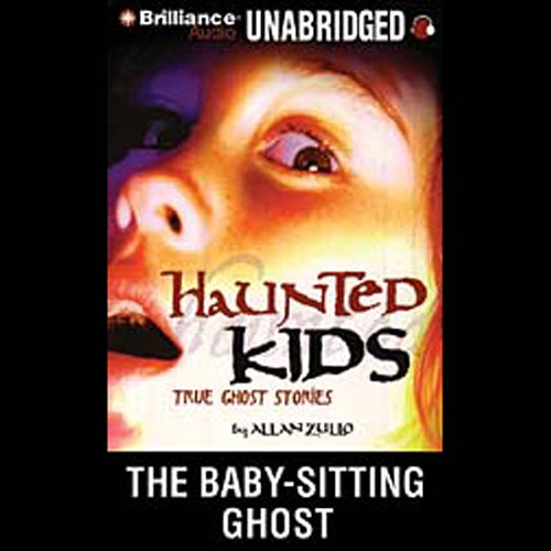 The Baby-Sitting Ghost audiobook cover art