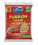 Arcor Turrón relleno con pasta de cacahuete 10u (250g)