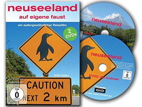 Neuseeland auf eigene Faust: Nord und Südinsel auf 2 DVDs