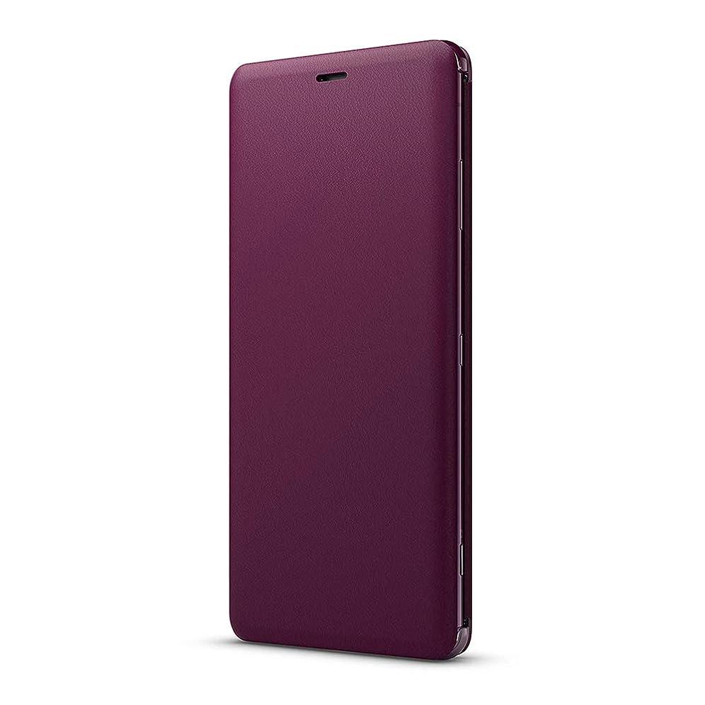 ブラウスブロック古くなったソニー Xperia XZ3(SO-01L/SOV39/SoftBank)用 ソニー純正 国内正規品 手帳型スタンド機能付き スタイルカバースタンド(レッド)Style Cover Stand SCSH70JP/R