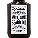 Naked Prince Scent Free Beard Oil Conditioner Premium Beard Moisturizer Scentless Fragrance-Free Great for Hunters and Outdoorsmen 2 oz - Best Leave In Conditioner Beard Oil for Bearded Men