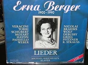 Erna Berger 1900-1990 Lieder Box Set Import--3 cds