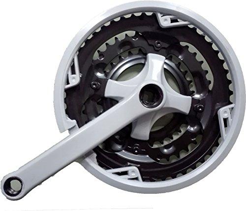 Triple plato de Bicicleta 26' Protector plato y Bielas 170mm 28T/38T/48T 3084c