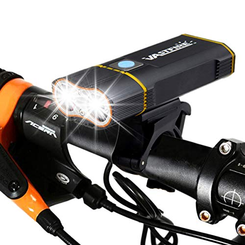 CLOUD POWER LED Fahrradlicht 1000 Lumen Fahrradbeleuchtung Fahrradlampe, USB Wiederaufladbare Fahrradlichter IPX6 Wasserdicht Frontlicht Für Mountainbike