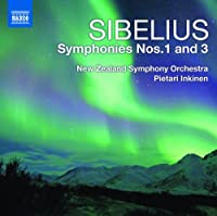 Sibelius: Symphonies 1 and 3 by NZ So (2010-10-26)