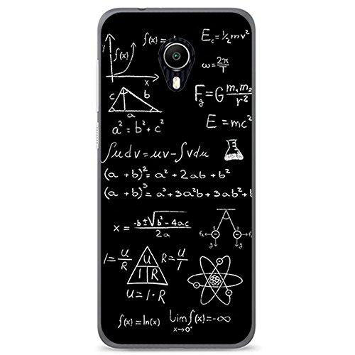 Tumundosmartphone Funda Gel TPU para VODAFONE Smart N9 Lite diseño Formulas Dibujos