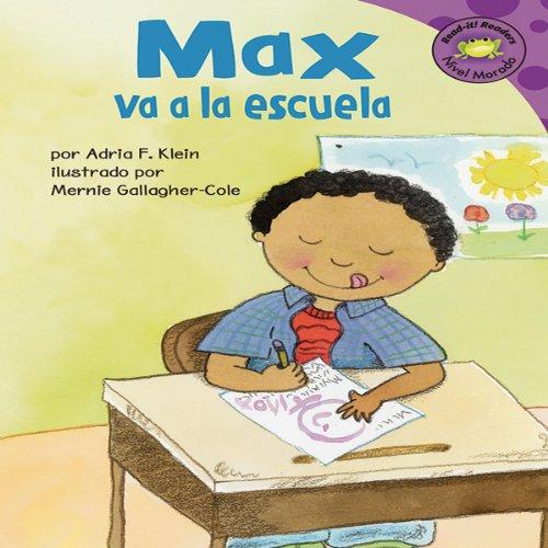 Max va a la escuela (Max Goes to School) audiobook cover art