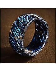 Woyada Vinger ring lichtgevende gloed ring gloeien in de donkere sieraden unisex decoratie Fluorescerende Gloeiende Ringen Voor Mannen Vrouwen