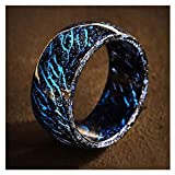 Liamostee Luminous Glow Ring Glowing In The Dark Jewelry Unisex Decoration for Women Men