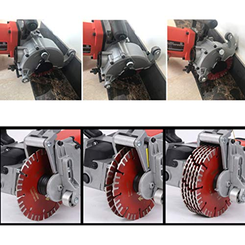 Wall Line Cutter Wire Slotting Marble Concrete Cutting Machine - Dustproof And Infrared Sighting - AC 110V