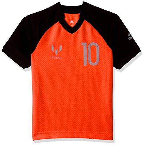 adidas Jungen Messi Icon T-Shirt, Sorang/Black, 176