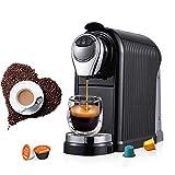 HYZXK Automatische Kaffeemaschine, 220V 1260W Kapsel Espressomaschine Espressomaschine...