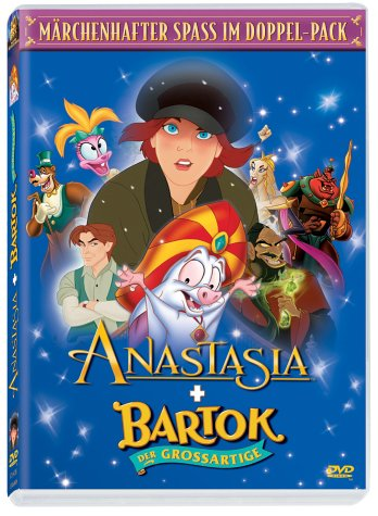 Anastasia / Bartok - Der Großartige [2 DVDs]