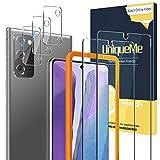 UniqueMe [2 Pack] Protector de Pantalla para Samsung Galaxy Note 20 5G / 4G + [3 Pack] Protector de...