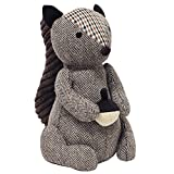 Riva Paoletti Squirrel Doorstop - Heavyweight Sand Filling - 100% Polyester - 16 x 25 x 13cm (6' x...