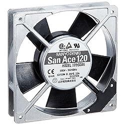 山洋電気 クーリングシステム ACファン San Ace 120 120角x25mm厚 109S086