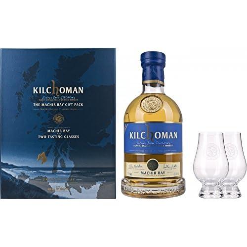 Kilchoman Machir Bay Mit Geschenkverpackung Mit 2 Gläser Whisky, 750 ml