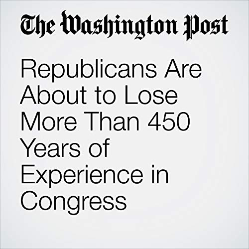 Republicans Are About to Lose More Than 450 Years of Experience in Congress copertina