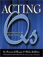 Acting qs: إجراء محادثات أثناء العمل مع Actors