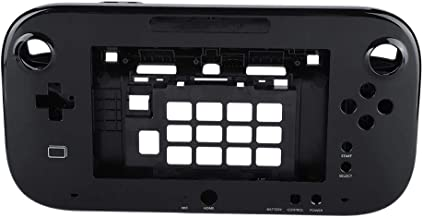 Protective Case for Wiiu,Portable Lightweight Hard Shell Skin Cover for Wii U Handle Gamepad Remote Controller (Black)
