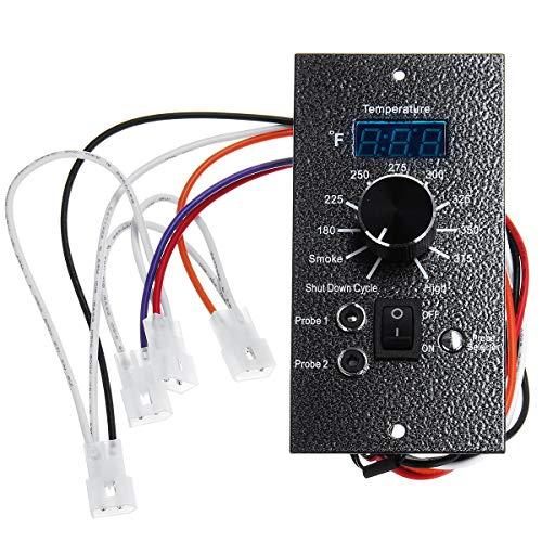 Tablero de Controlador de termostato Digital AC 120V para Todo Traeger Bac23 Pellets Grills Durable