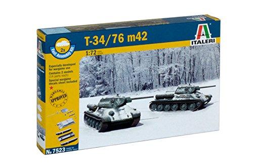 Italeri 7523 1:72 T 34/76 m42, Fahrzeug