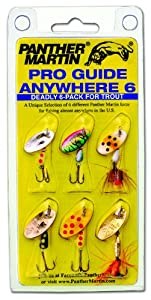 Panther Martin Pro Guide Anywhere 6 Pack
