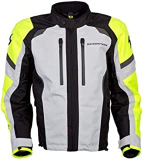 Scorpion Optima Men's Street Motorcycle Jackets - Hi-Viz X-Large