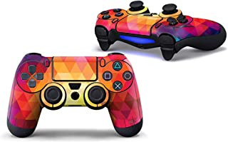 Sololife PS4 Controller Skin Stickers for Sony Playstation 4 DualShock Wireless Controller