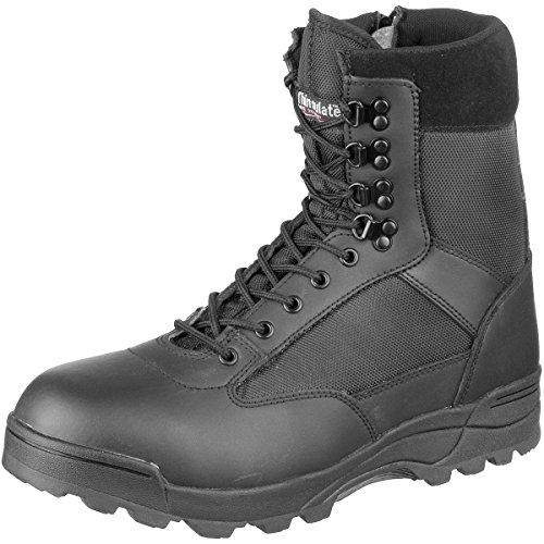 BRANDIT Scarponi Stivali Anfibi uomo unisex Trekking Tactical Zipper Boots 39
