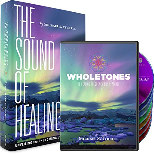 Price comparison product image Wholetones: The Healing Frequency Music Project - Book and 7 CD Set