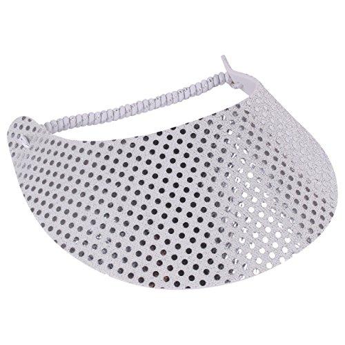 Sunshine Fashion Inc The Incredible Sunvisor - Glitzy Design Hats Perfect for The Summer (Glitz 6)