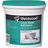 DAP 7079825053 25053 Weldwood Cove Base Adhesive, 1-Quart, White...