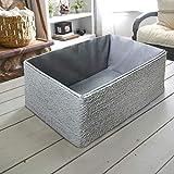 Aufbewahrungsboxen Biologisch Handarbeit aus Papier Pappe Körbe Umweltfreundlich für Accessoires Schminke 4er Set - 7
