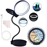 Magnifying Glass with 36 LED Lights...