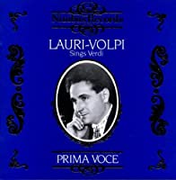 Lauri-Volpi Sings Verdi by VARIOUS ARTISTS (1992-12-02)