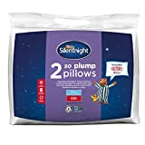 Silentnight So Plump Pillow - White, Pack of 2