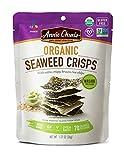Annie Chun's Organic Seaweed Crisps, Wasabi, Non-Gmo, Gluten Free, Oven-Baked, 1.27-Oz , Pack of 10