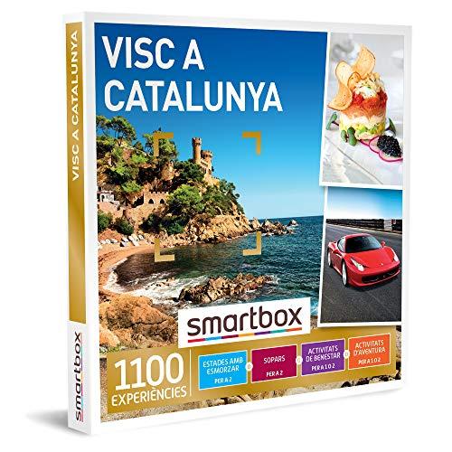 SMARTBOX - Caja Regalo - Visc a Catalunya - Idea de Regalo - 1 experiència d'estada, benestar, gastronomia o Aventura per a 1 o 2 persones