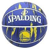 SPALDING(スポルディング) バスケットボール 5号 屋外用 ラバー ウォーリアーズ マーブル NBA公認 83-929J 83-929J
