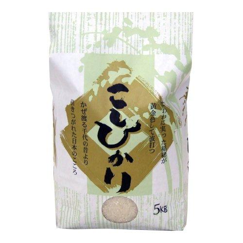 新潟県産 無農薬米 コシヒカリ [無洗米] 10kg