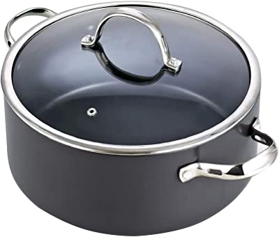 Cuisinox POT-4182 Super Elite Covered 3 Quart Tri-Ply Bonded Dutch Oven Stainless Steel