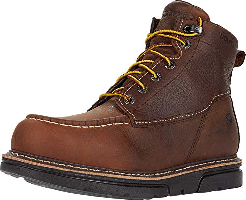 Wolverine Men's I-90 DuraShocks Moc-Toe 6' Work Boot Industrial