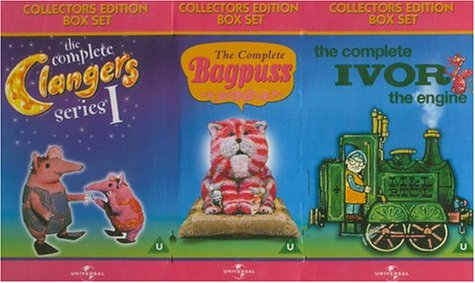 Bagpuss, Clangers And Ivor