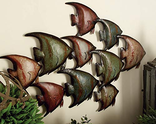 Deco 7963533Metall Fisch Wand Decor