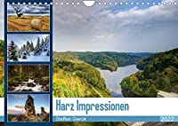 Harz Impressionen (Wandkalender 2022 DIN A4 quer): Der Harz ist das noerdlichste Mittelgebirge Deutschlands. Durch Ihn zog einst die Innerdeutsche Grenze. Eine ganz besondere Flora und Fauna existiert dadurch. An dem Harz grenzen drei Bundeslaender. (Monatskalender, 14 Seiten )