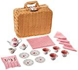 Product Image of the Butterfly Tea Set Basket