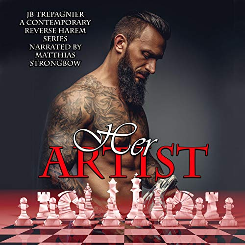 Her Artist (Aiden): A Contemporary Reverse Harem Series Audiobook By JB Trepagnier cover art